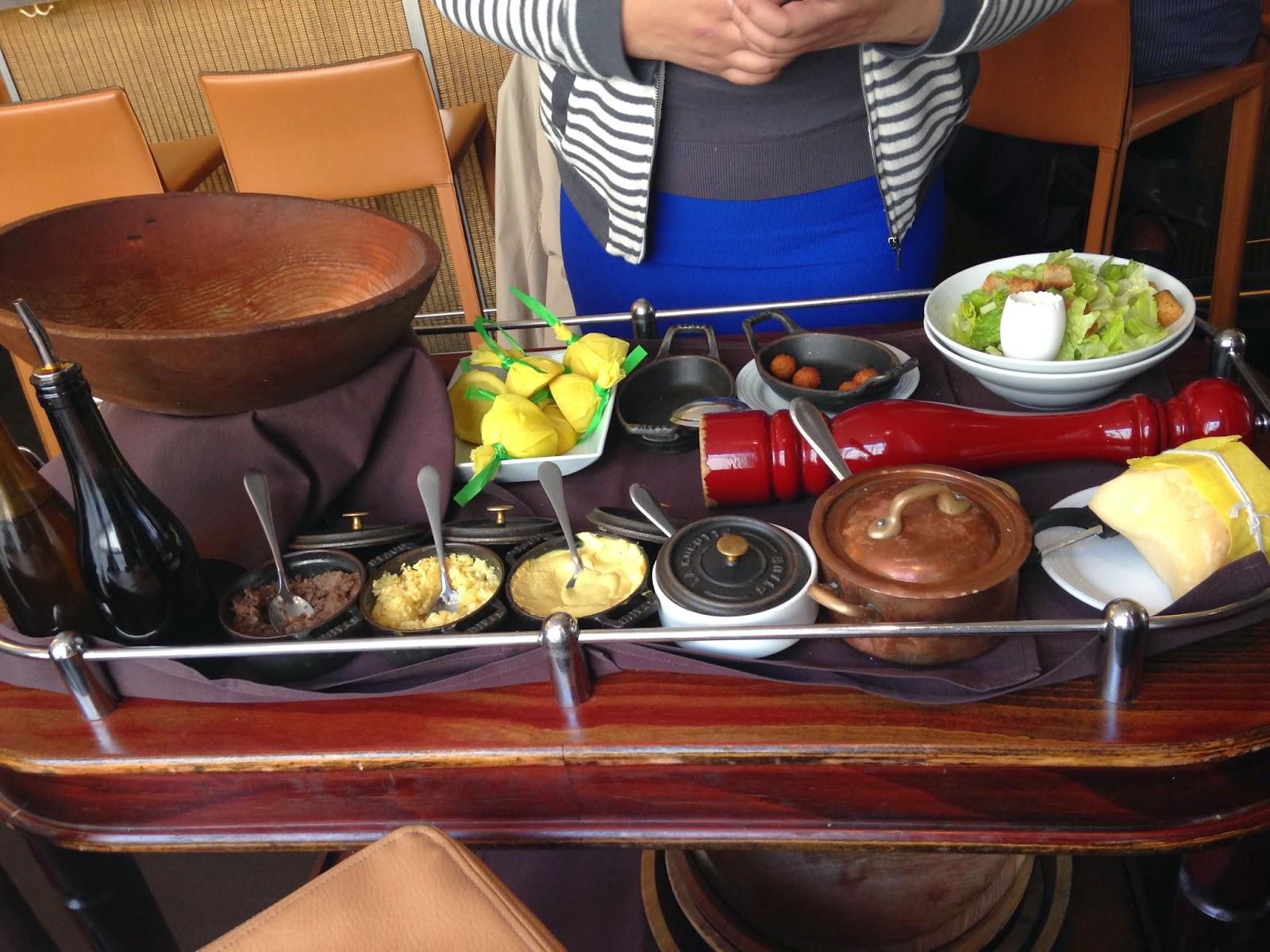 Caesar Salad Prepared Tableside