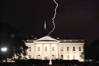 Lightning Strikes White House