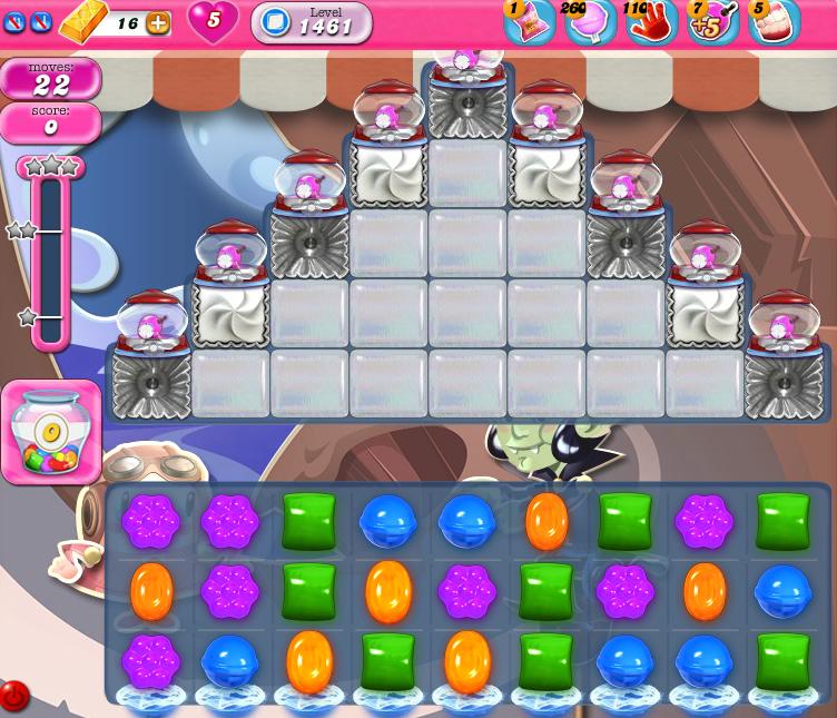 Candy Crush Saga 1461