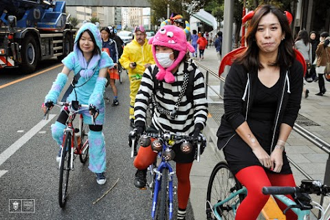 Ride Report and Photos from the 2015 Halloween Ride in Tokyo