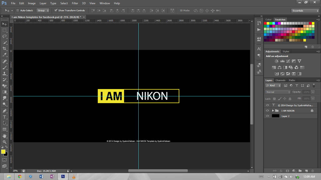Theh screen shot of my  I Am Nikon Font