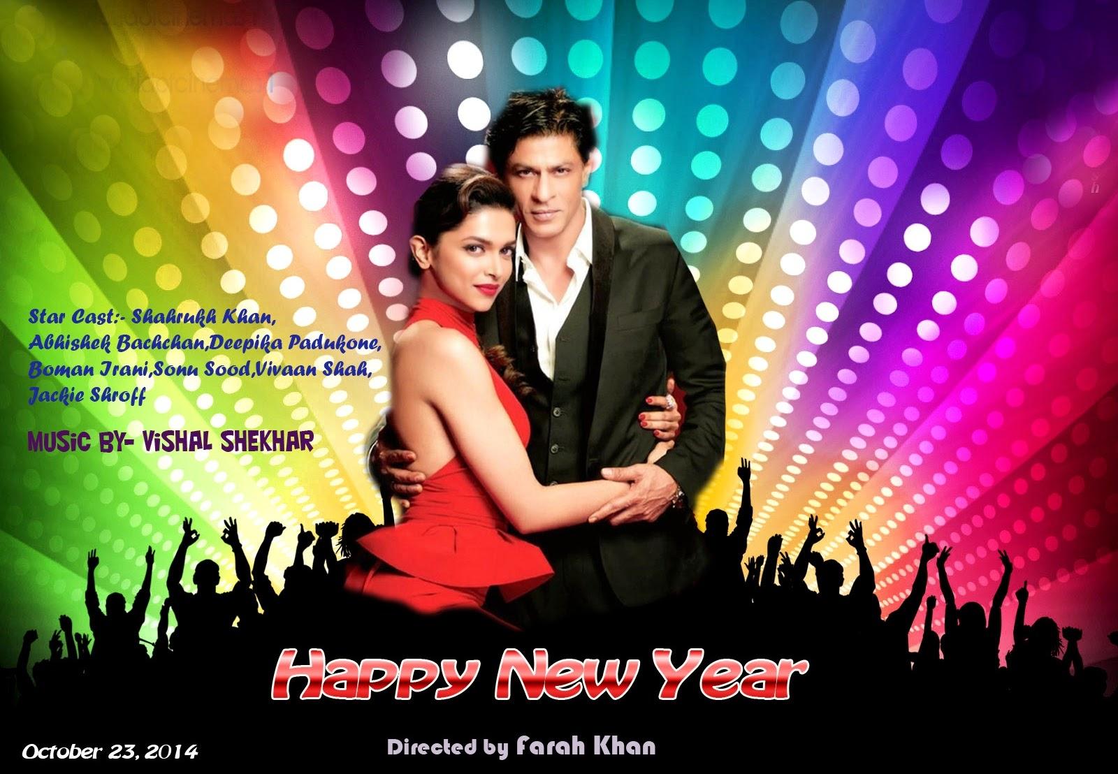 Movie happy new year dipika padu with sharukh khan 2014 (Actor and Actress Hd Wallpaper)