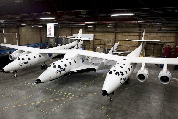 VSS Enterprise, Virgin Galactic. ZonaAero