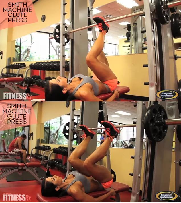 smith machine leg exercises