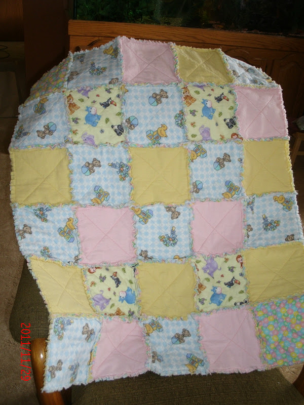 The Magic Of Quilting Warm Flannel Baby Quilt