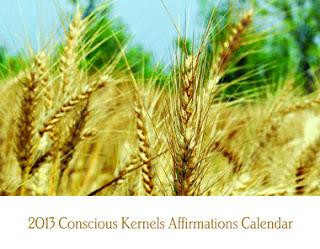 2013 Conscious Kernels Affirmations Calendar