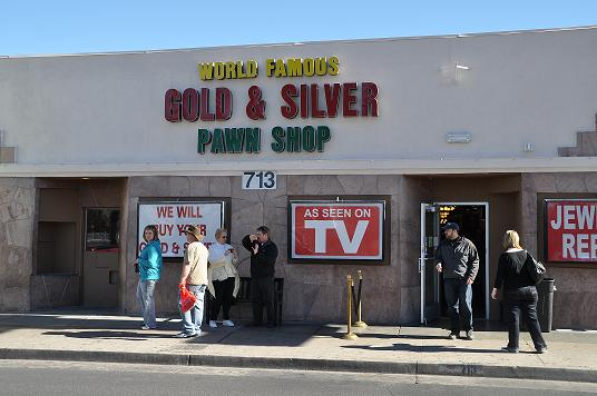 Gold & Silver Pawn
