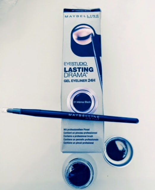 Maybelline Lasting Drama Gel Eyeliner, Eyeliner Pot, Gel Eyeliner, Chemist Direct, Maybelline, Cleopatra Make-Up