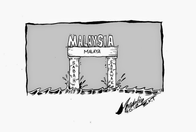 The Suppresion of Malaya Towards Sabah and Sarawak