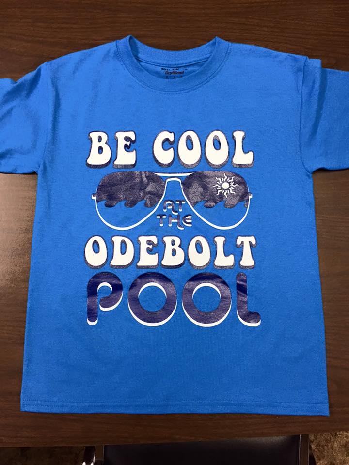 Support our POOL.  Buy a T-Shirt!, Swim Bag or Mug!