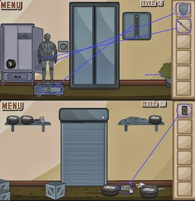 Brownish Escape Level 19 20 21 Solution