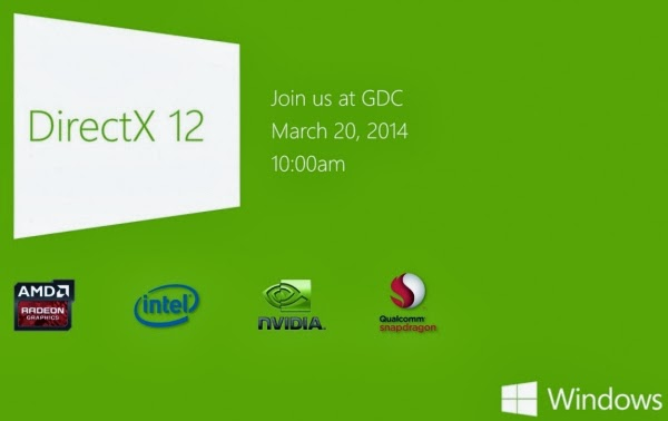DirectX 12, Game Developers, Game Developers Conference, San Francisco, GDC 2014, Microsoft, DirectX 12 graphics API, games, AMD,