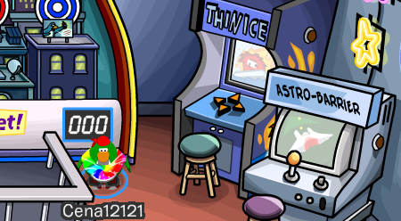 Club Penguin Thin Ice Cheats Dance Lounge Arcade