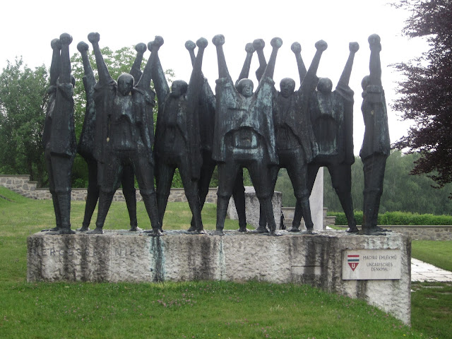 Hungarian Monument, Mauthausen Concentration Camp, Vienna / SouvenirChronicles.blogspot.com