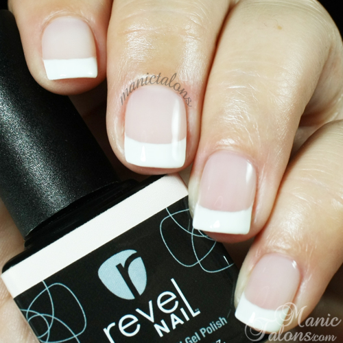 Revel Nail Gel Polish Paris as French Base