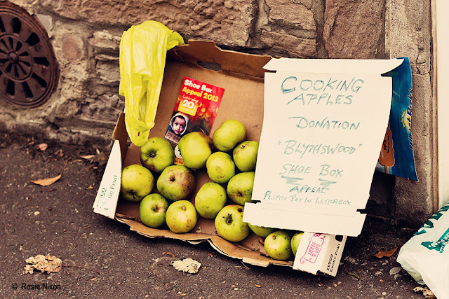 bramley apples for sale in aid of Blythswood charity appeal