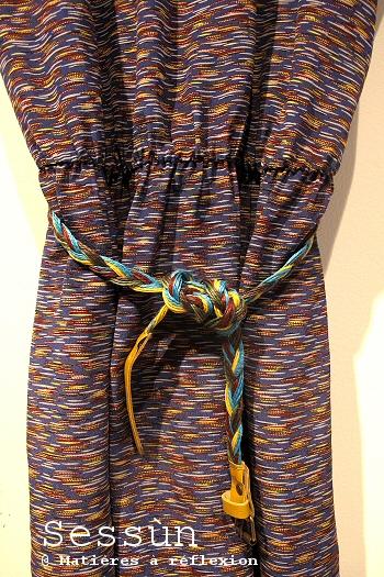 Vêtements Kalahari robe bleue Sessun soie Soldes