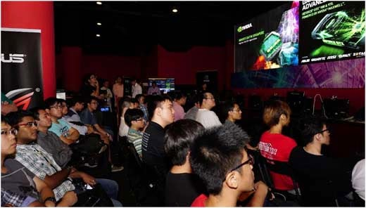 NVIDIA Gamers Day in Singapore