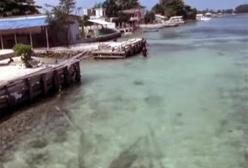 Perairan Di Pulau Tidung