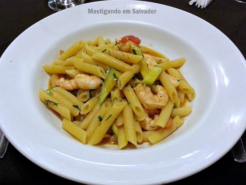 L'Arcangelo Ristorante Italiano: Penne Gamberi e Zucchine