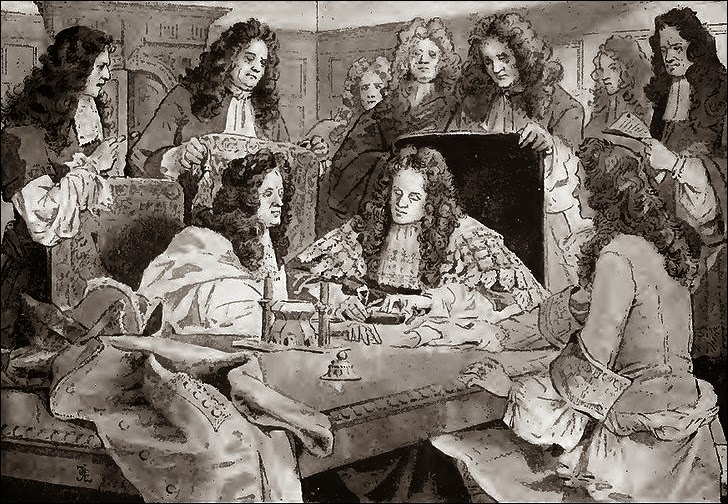 Formation of Bank of England in 1694