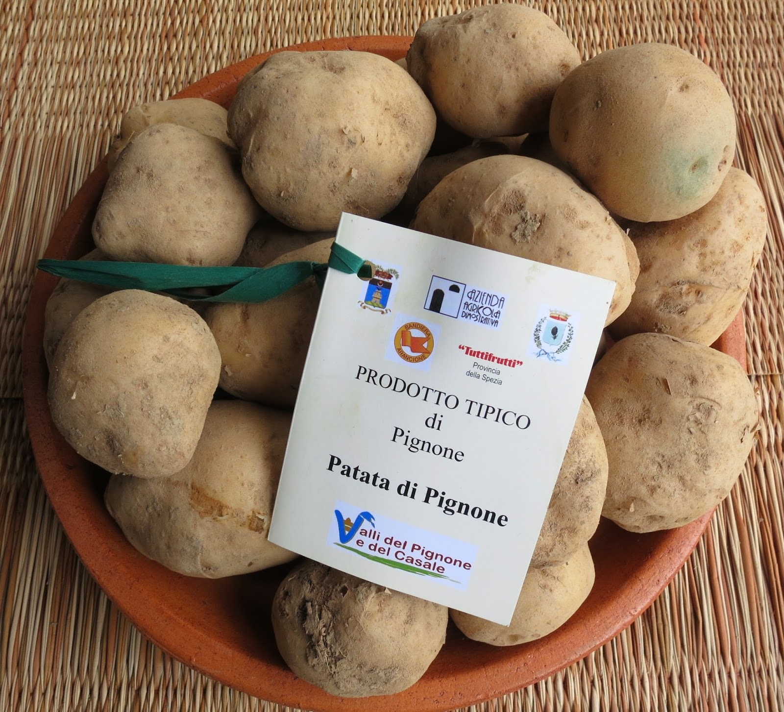 Potatoes of Pignone or Patata di Pignone
