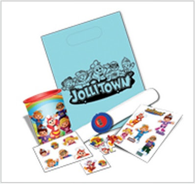 Jollitown theme loot bag