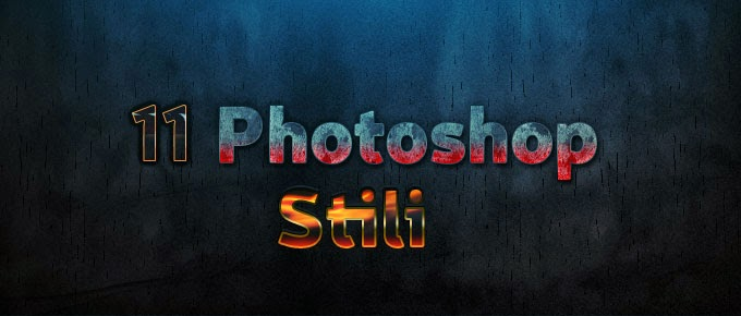 Photoshop 11 Tane Yazı Stili