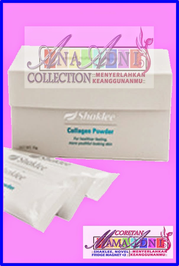 Awet muda dengan Collagen Powder Shaklee