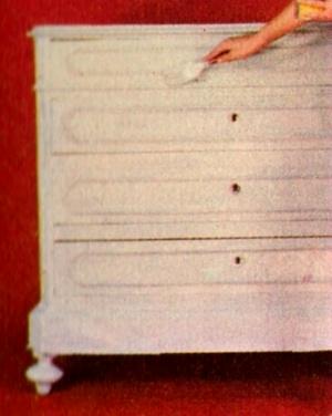 Professione donna come verniciare e decorare un vecchio - Colorare i mobili ...