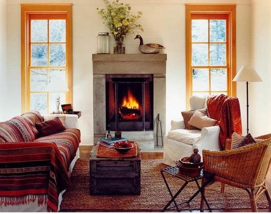 Thiết kế kiến trúc nội thất mùa đông