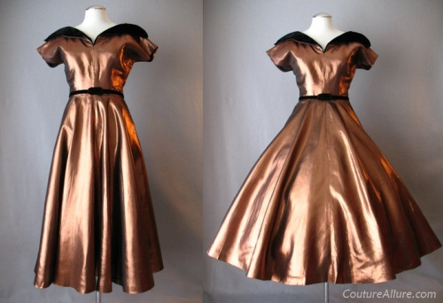 Couture Allure Vintage Fashion 1950s Dresses The Swish Without