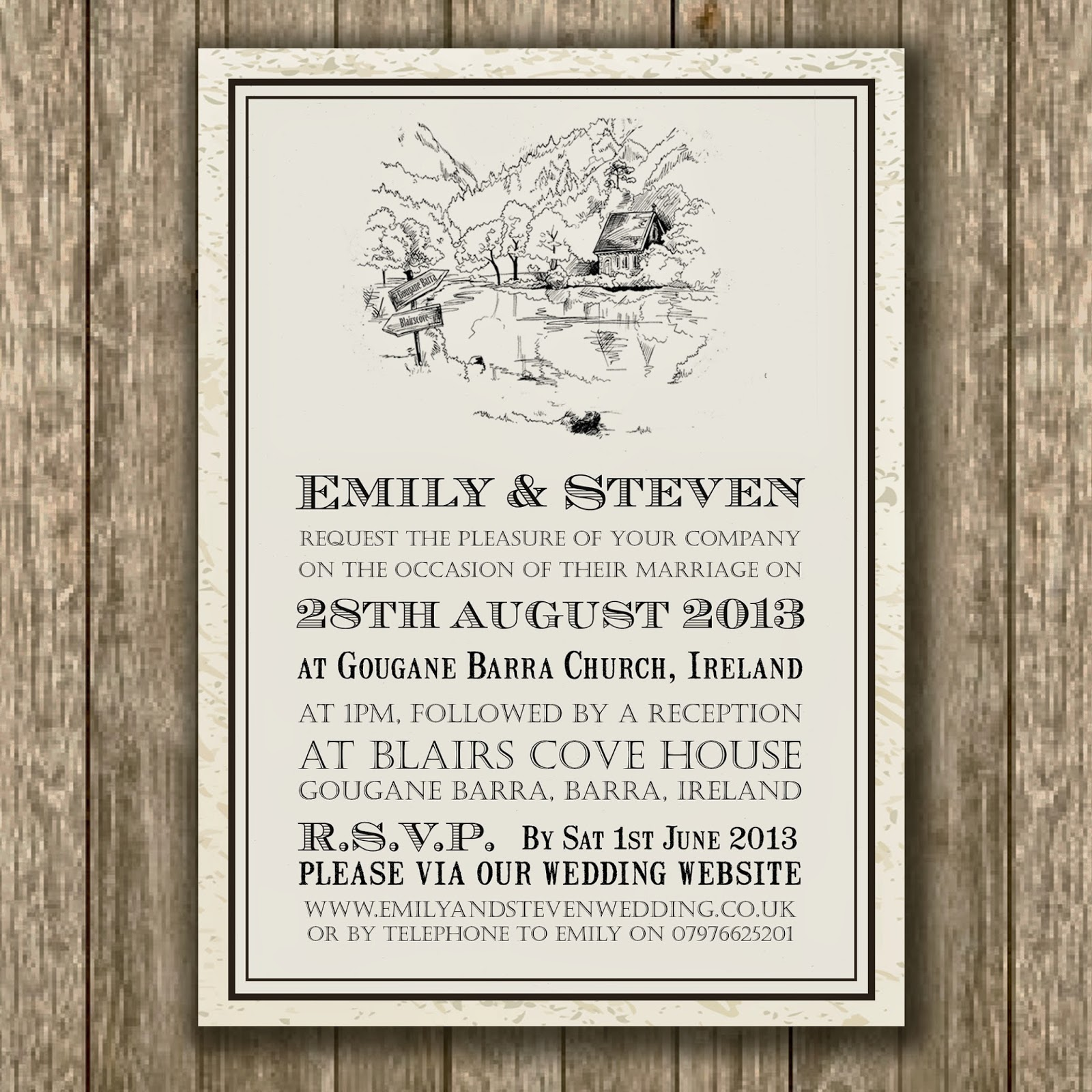 Knots and Kisses Wedding Stationery: July 2014