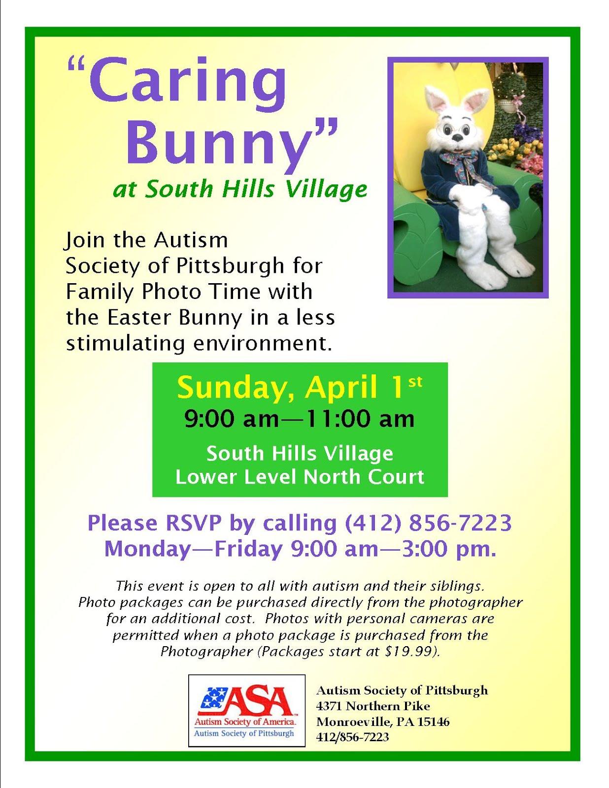 Caring bunny south hills village april 1 macaroni kid