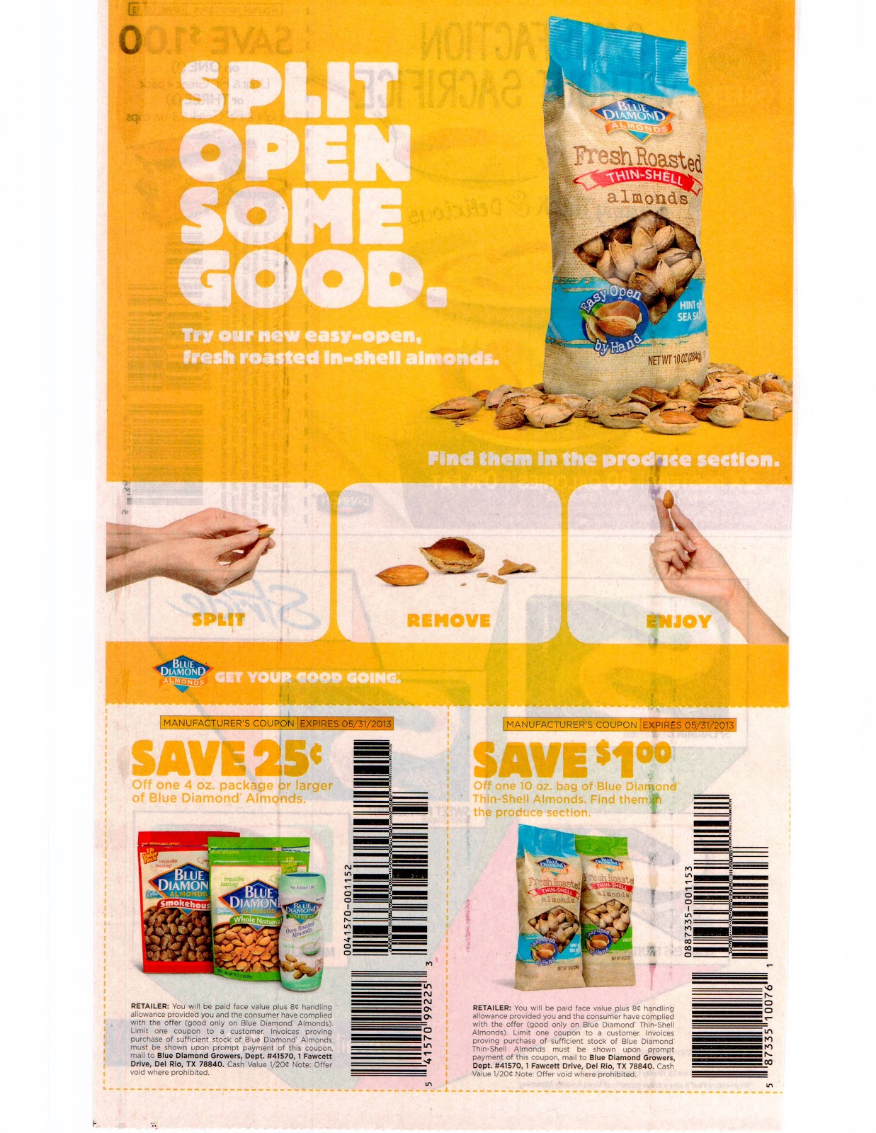 Get coupon inserts in bulk