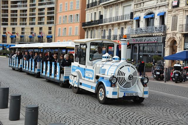 Vieux Port Marseille Petit Trein