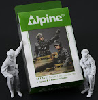 Alpine Miniatures 1/35th scale SS Panzer Commander set