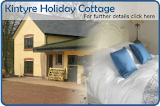 Kintyre Holiday Cottage