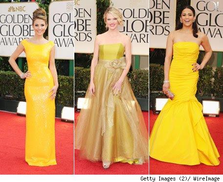 Vestidos y accesorios de moda lindos vestidos amarillos - Que colores combinan con el amarillo ...