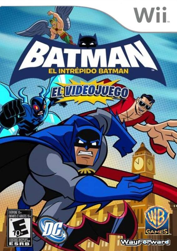 Batman: El Intrépido Batman [Wii][PAL][Español][PUTLOCKER]
