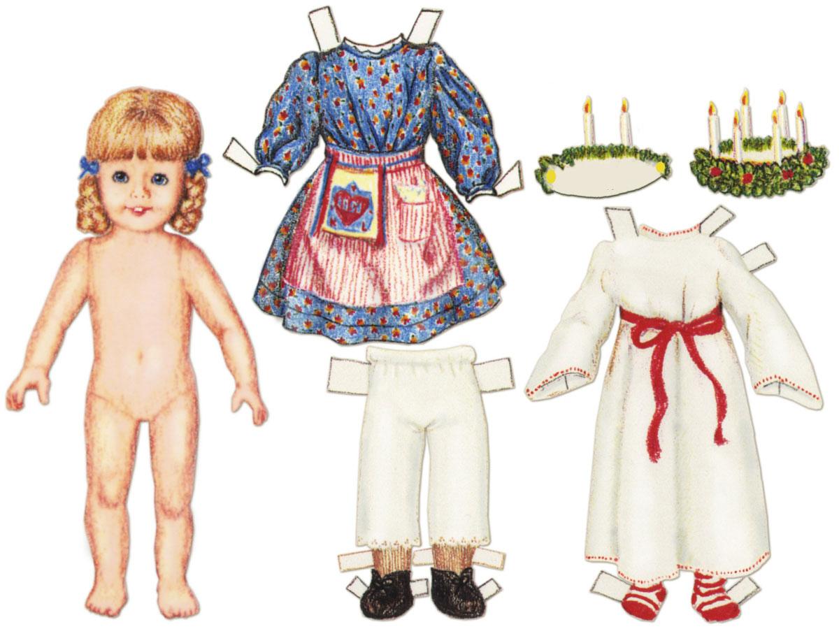 Как сделать куклу из бумаги, бумажные куклы с одеждой 39