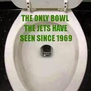 the only bowl the jets have seen since 1969