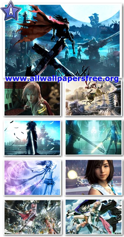 72 Amazing Final Fantasy Game Wallpapers [3 Resolutions HD]