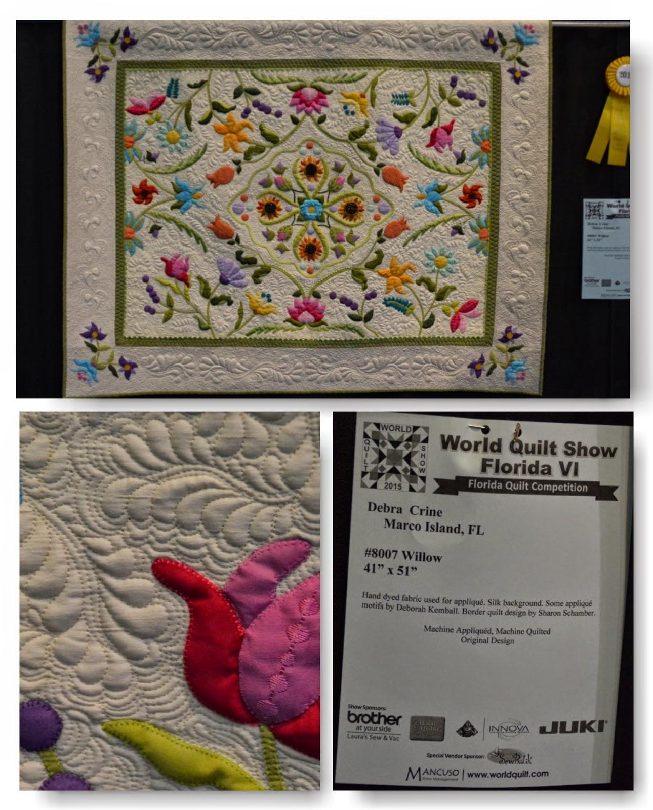 Crooked Stitches: World Quilt Show - Florida VI : quilt shows in florida - Adamdwight.com