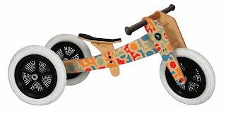 Draisienne en bois wishbone Bike Alphabet