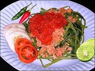 Plecing Kangkung - Makanan Khas Lombok, Wisata Kuliner di Lombok