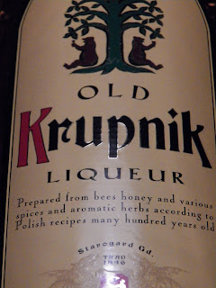 Krupnik, honey liqueur, honey vodka, wodka, Polish, Poland