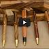 كيف صنعت الاقلام الخشبية المصنوعة يدويا HD