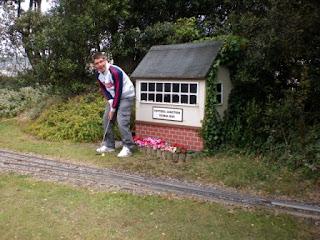 Mini Golf course and Miniature Railway in Weston-super-Mare
