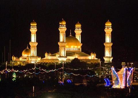 Masjid di Negara Brunai Darasusalam
